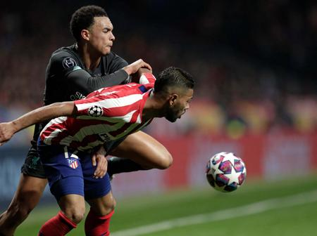 Atletico Madrid defender Renan Lodi sends message to Liverpool ahead of Anfield visit