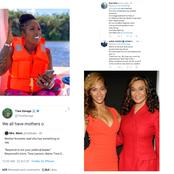 Nigerians Stood by Tiwa Savage On Twitter As Beyonce's Mother Slams Her (tweets and reactions)