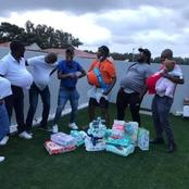 Is This The New Trend? Men Organise Baby Shower Party For Their Friend And There Is No Woman Present