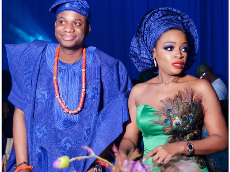 Meet the daughter of Mike Adenuga, and her lovely husband