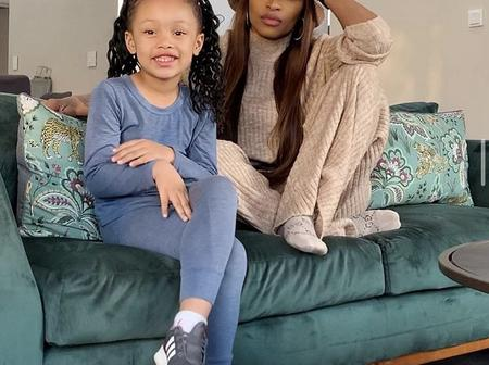 Dj Zinhle is a proud mom, see how kairo is setting goal already at an early age