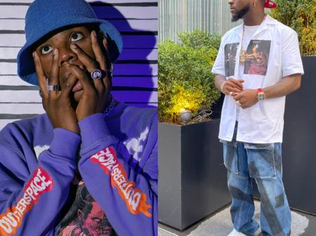 Check Out What Rema Said About Davido That Made Him Reply