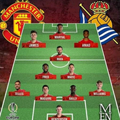 Solskjear Makes 5 Huge Changes to Manchester United First XI Squad against Real Sociadad