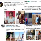 Photos Nigerians living abroad posted on Twitter during