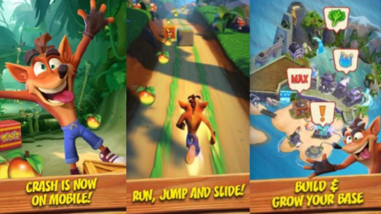 Le Contre-la-Montre de Crash Bandicoot: On the Run! dévoilé