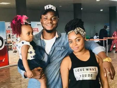 Check Out Cute Pictures of Nollywood Actress, Sochima Ezeoke And Her Family