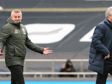 Jose Mourinho Salvages Ole Solskjaer, See What He Said