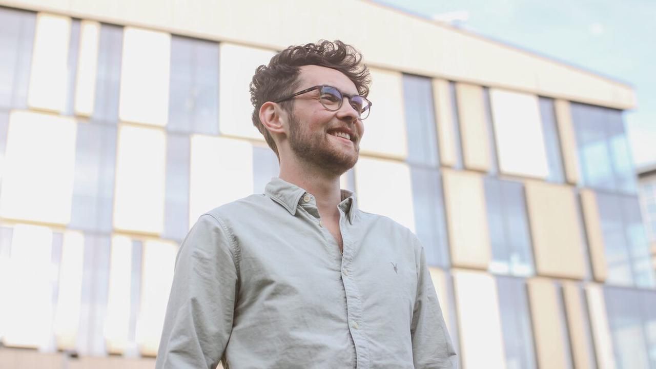 Chris Hughes was a dyslexic student at the University of Strathclyde. Now he's a tech CEO and neurodiversity champion