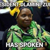 President Cyril Ramaphosa says he will not discipline Minister Nkosazana Dlamini-Zuma