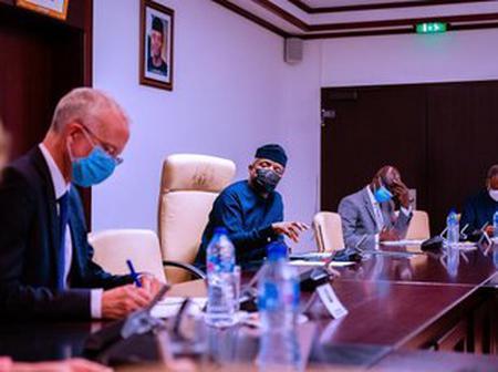 EndSARS: UK High Commissioner To Nigeria And Special Envoy Meet VP. Yemi Osinbajo (Photos)