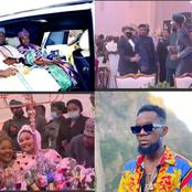 Oluwo & Oba Elegushi Display Great Dancing Skills As Patoranking Sings For Them At Birthday Party