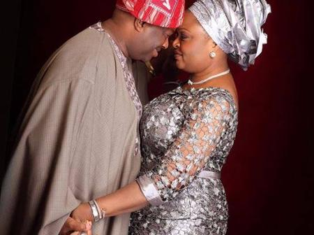 Romantic Photos Of Dele Momodu And His Wife That Will Inspire You.
