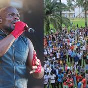 Kerry James promet de venir visiter le lycée classique d'Abidjan, si l'occasion se présente