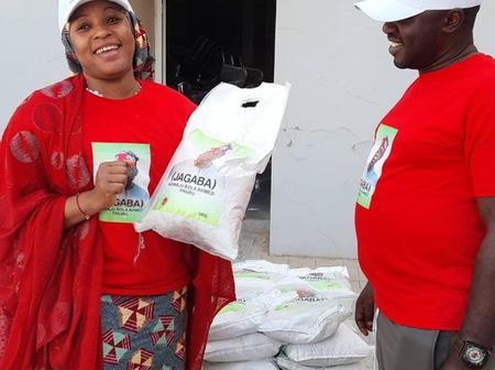 Bola Ahmad Tinubu Distributes Rice For Ramadan Feeding In Kano State
