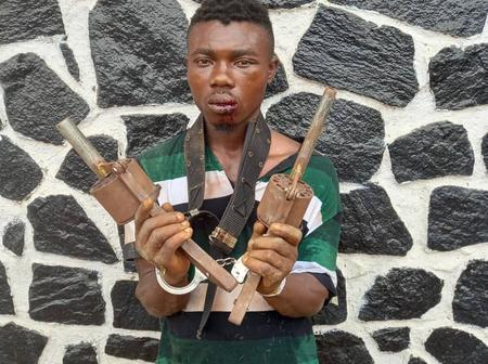 Photos: Deadly Weapons Recovered From Arrested Cultists
