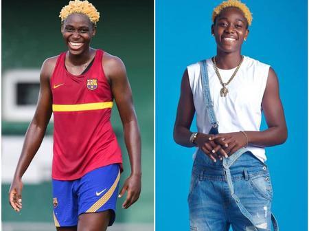 Meet Asisat Oshoala, A Nigerian Female Footballer Regarded As One Of The Best In Africa (Photos)