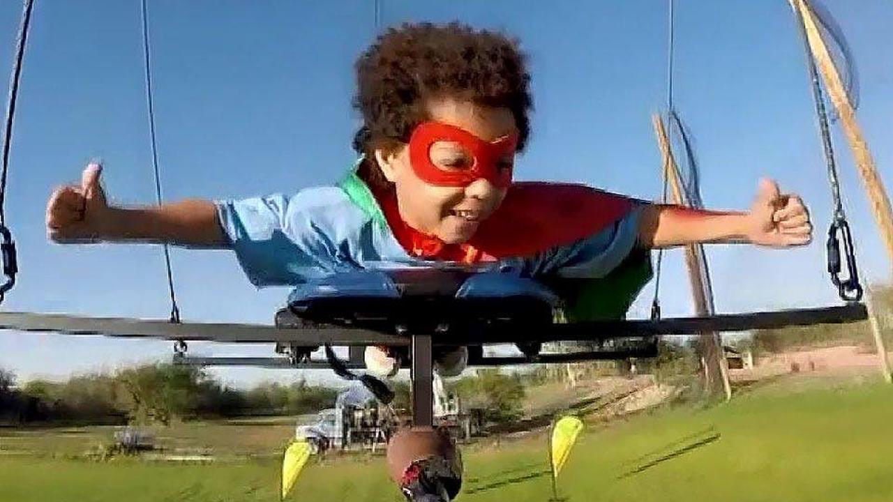 Kids fly free with help of Hollywood magic