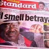 Raila In Dilemma Over Handshake Deal