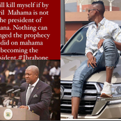 I Will Kill Myself If By April Mahama Is Not The President Of Ghana - Ibrah One Fumes