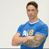 See photos of Fernando Torres looking hench and hefty