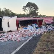 N3 has been closed down after trucks got involved in this fatal incident