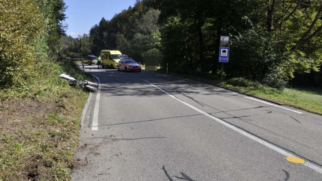 Kleinlützel SO: Unfall nach Provokation zwischen Motorrad- und Autolenker