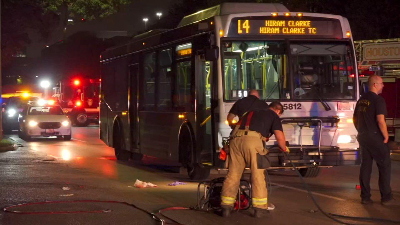 Man struck by METRO bus suffers severe injuries