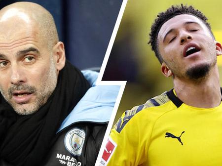 Why Pep Guardiola rules out Sancho's Man City return