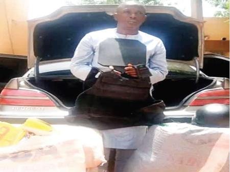 Ibrahim was arrested by NDLEA in Kebbi state, see what they found on him while leaving for Sokoto