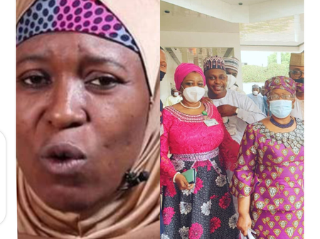 Aisha Yesufu Reacts As Buhari's Aides Took Picture With Dr Okonjo Iweala, Check Out What She Said