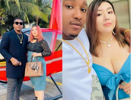 Photos Of The Igbo Man And His Chinese Wife As They Celebrate Easter Together