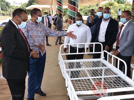 Kibicho Reveals The New Jua Kali Locally Designed Hospital Beds Courtesy Of Uhuru's Initiative