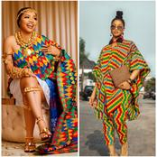 Nengi Vs Tacha: Whose Ghanaian Outfit Is More Beautiful?