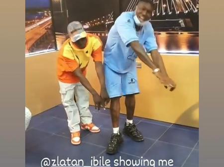 Zlatan Ibile Shows new palliative dance moves. See what he called it.