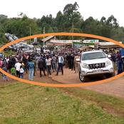 Opinion: Nyeri county gives Uhuru low turnout compared to Kisumu's recent visit raising questions!