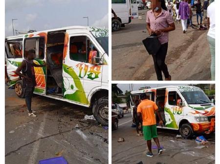 Drame à Bingerville : un grave accident impliquant un Gbaka fait de nombreuses victimes