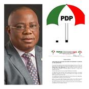 Akwa Ibom PDP Declares One Week Of Mourning In Honor Of The Deceased State Chairman.