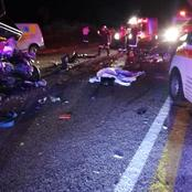 Seven people died in a multiple vehicles crash