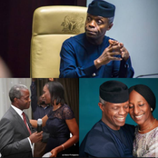 Yemi Osinbajo is 64 Years Old, See Photos Of His Children And Wife
