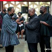 Please You Are More Than 25 In Number -Ghanaians React To Photos Of Akufo-Addo & Bawumia At Funeral