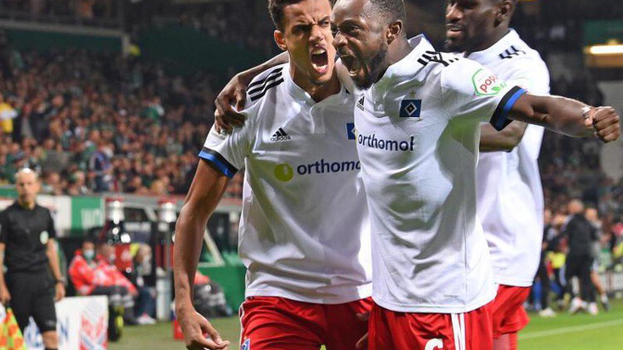 Derby-Wahnsinn:HSV gewinntpackendes Nordduell bei Werder