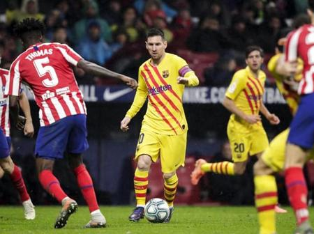 How Atletico Madrid and Barcelona are possibly going to lineup on Saturday Laliga match