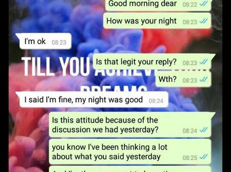 After 5-years of dating, See What She Told Him That Got People Talking. No Man Deserve This.