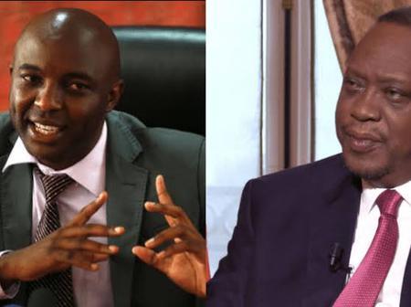 MP Kioni Dismiss Kang'ata in a Heated Debate, Alleges Hidden Plan Behind His Letter to Uhuru (Video)