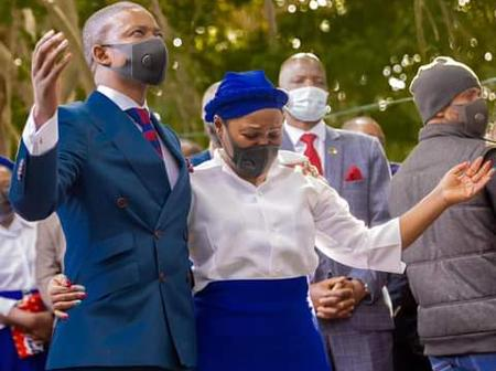 ECG is going to make a BIG celebration today for Bushiri's daughter