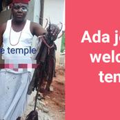 People React As Ofiafuluagu Finally Welcomes Ada Jesus To His Chi Marine Temple