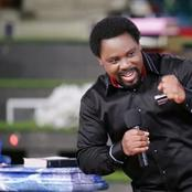Prophet Tb Joshua Reacts As Youtube Suspends His Church Account