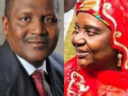 Meet The Wealthy Mother Of Aliko Dangote Who Is The Daughter Of Dantata