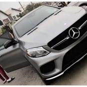 Three(3) Nigerian celebrities who drives expensive Mercedes Benz