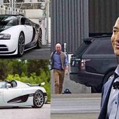 Checkout Jeff Bezos' exotic car collection